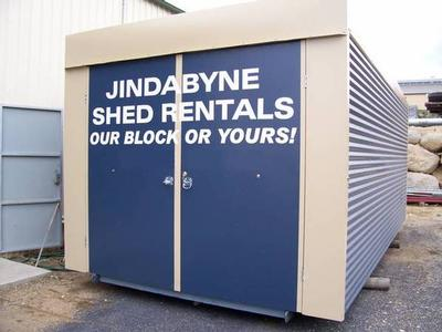 SHORT OF STORAGE?... BUY OR RENT Picture