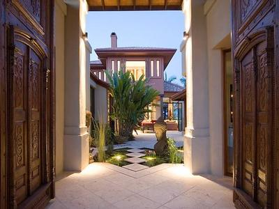 Magnificent Waterfront Asian Themed Home offer Residential