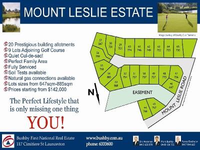Mt Leslie Estate Picture